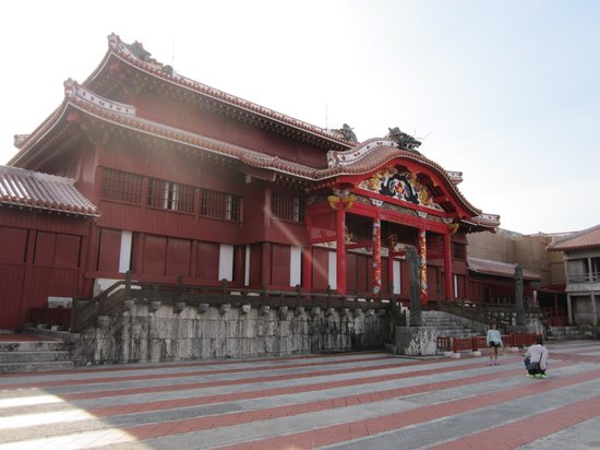 Shurijo Castle: 正殿