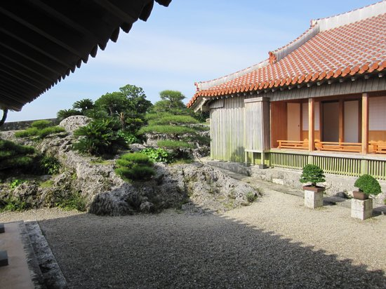 Shurijo Castle: 鎖之間庭園