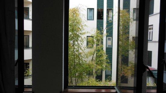 هوتل ويندسور: uitzicht op binnenplaats