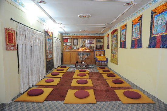 Hotel Himalaya Yoga: Meditation Hall