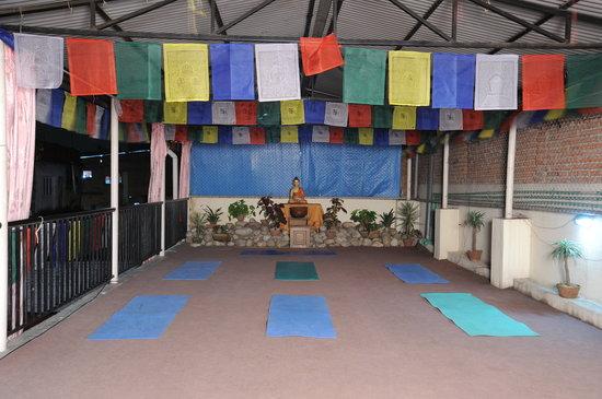 Hotel Himalaya Yoga: Yoga Hall