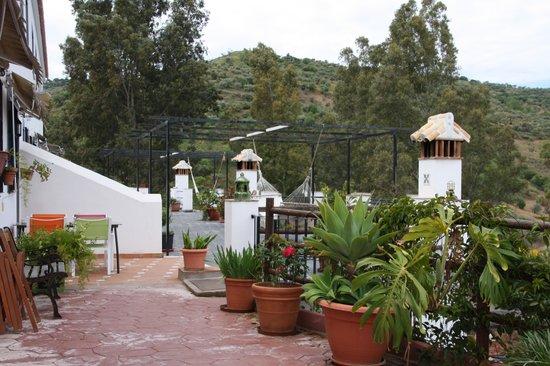 Casas Rurales La Molineta de Guaro: Terrassen van huisjes