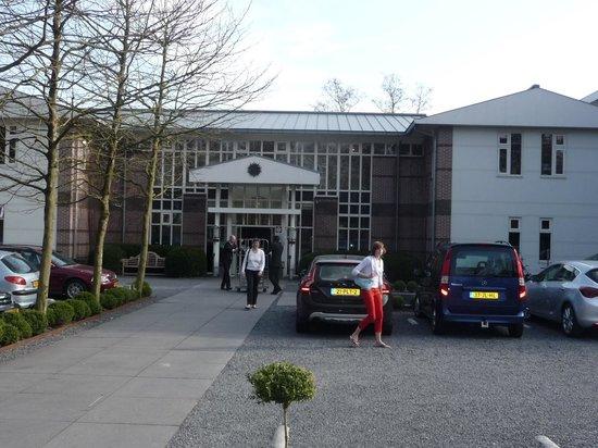 Restaurant Hotel Merlet: Entrance