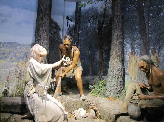 State Museum of Pennsylvania: Scène vie quotidienne de l'époque