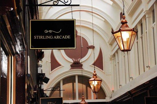 Stirling Arcade: Classic Architecture
