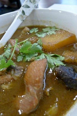 Kangkung kobis keledek masak titik lemak picture of amy for Amy heritage nyonya cuisine