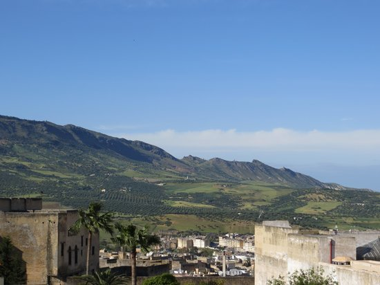 Dar Dalila: View from the terrace