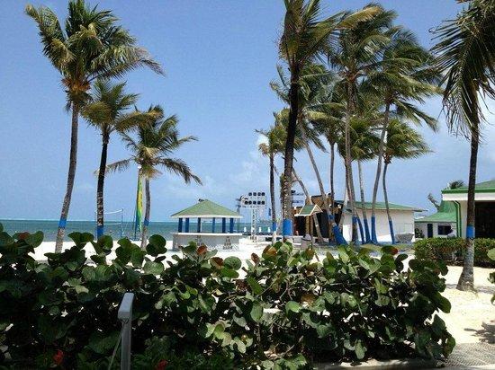 Decameron Marazul: Vista hacia la playa