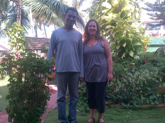 Thiruvambadi Beach Retreat: Our host Mohan!