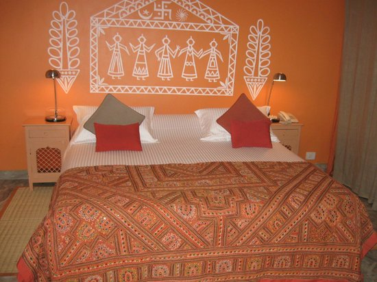 Haveli Hauz Khas: Perfectly made bed!