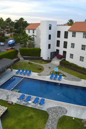 Santa Maria Hotel & Suites: Ambientacion y vegetacion