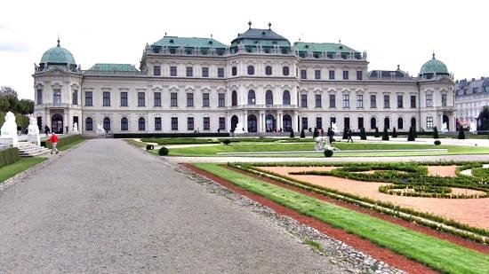Wienguide Tours : Belvedere palace.