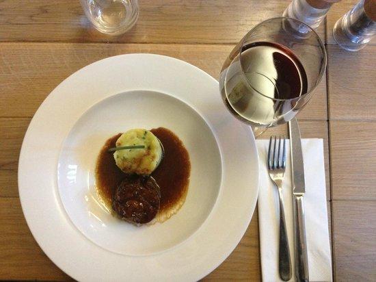 RED Pif: Lamb roulade with mashed potatoes - Part of We Love Lamb menu