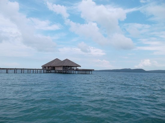 Song Saa Private Island: Overwater Restaurant