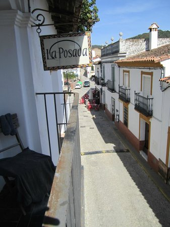 La Posada de Alajar: View from the balcony