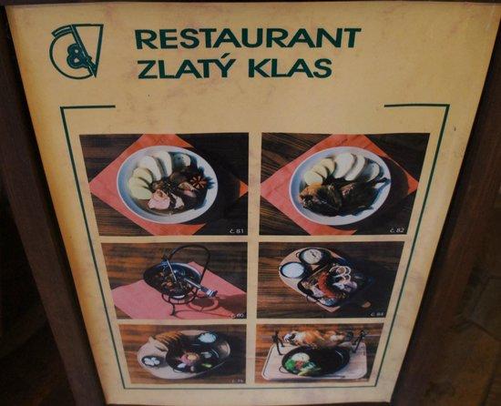 Zlaty Klas: The best food por lunch or diner