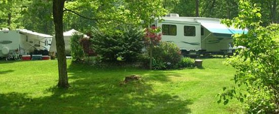 Whispering Pines Camping Estates: campsite