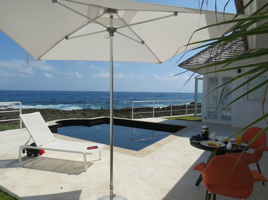 The Trident Hotel : Villa 10 pool