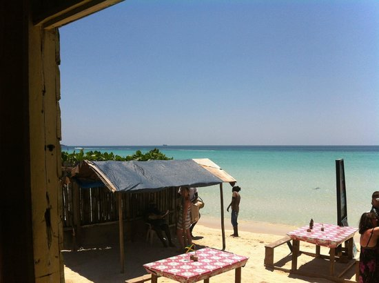 Negril Palms Hotel: annies thrill corner