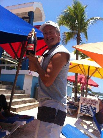 Negril Palms Hotel: beachfront