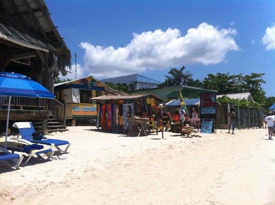 Negril Palms Hotel : beach neighbors