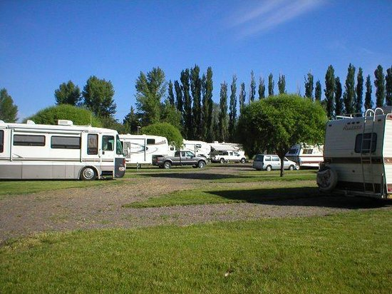 RV Camp and Cabin Photo