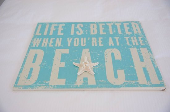 On the Beach- Casey Key: Life is better..