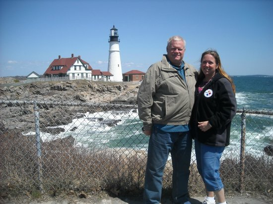 The Scenic Route Maine Tours: Portland Head Light, taken by Khaled