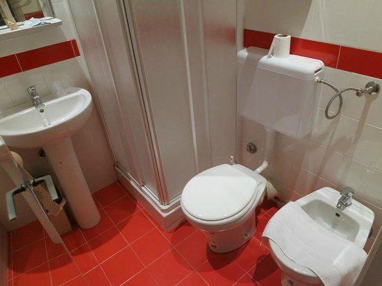 Hotel Le Versailles : Washroom