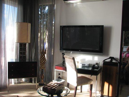 Atlanticview Cape Town Boutique Hotel: Big TV, etc.