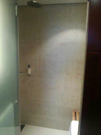 Hôtel LE MAURITIA : douche immense