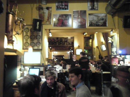 Brauerei Heller: View from the bar