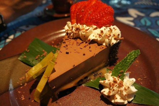 Mama's Fish House: Hazelnut Chocolate Desert