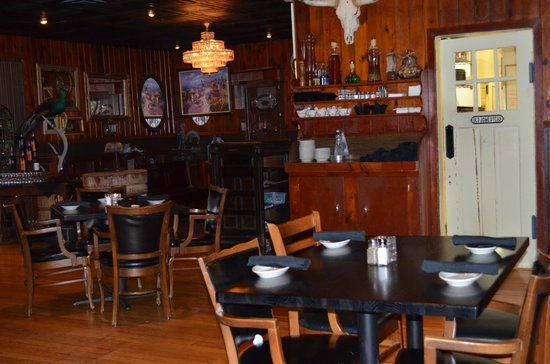 The Ranch Steakhouse: upstairs dining room
