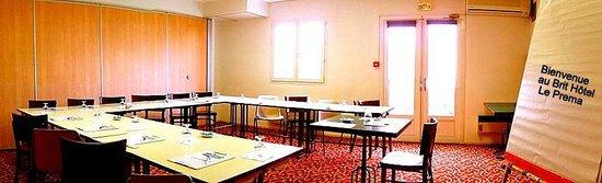 Brit Hotel Blois - Le Préma : Salle de séminaire