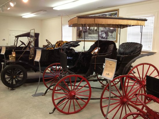 Country Doctor Museum: Part of carriage house