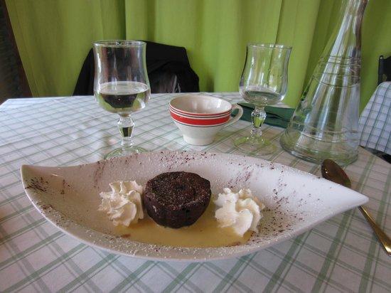 Le Manoir : Fondant  au chocolat