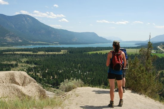 BC Rockies Adventures: What a view! Enjoying the view on a guided hike to the Hoodoos