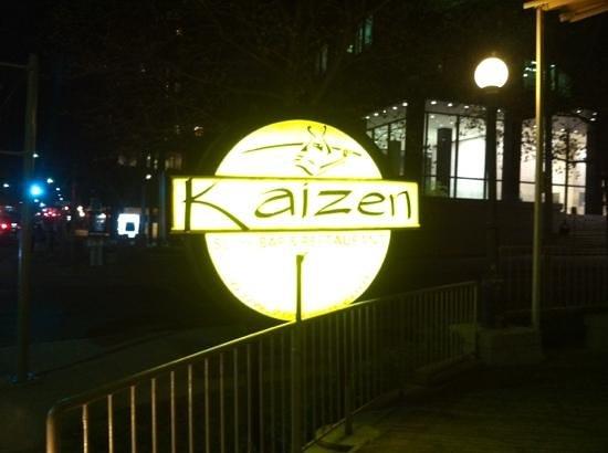 Kaizen Sushi Bar and Restaurant : entrer