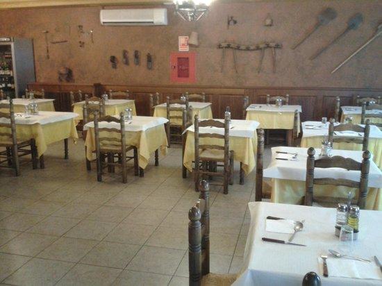 Hostal La Gavilla: restaurante