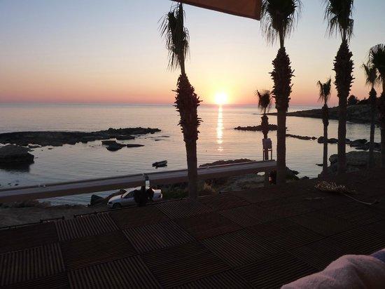 Atlantica Golden Beach Hotel: Sunset from room 527