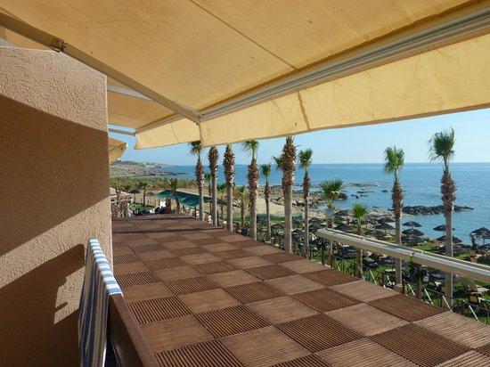 Atlantica Golden Beach Hotel: Room 527 view of beach area