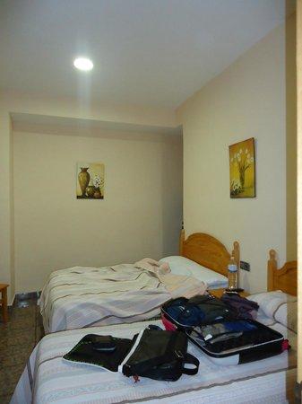 Hospedería del Pilar : una parte della camera