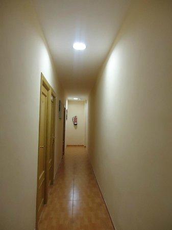 Hospedería del Pilar : i corridoi della pensione