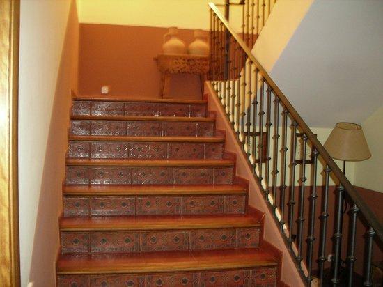 Hostal La Gavilla: escaleras