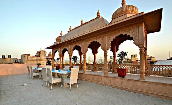 Hotel Ramsingh Palace: restaurant