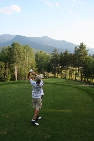 Waterville Valley Golf Course: Family friendly!