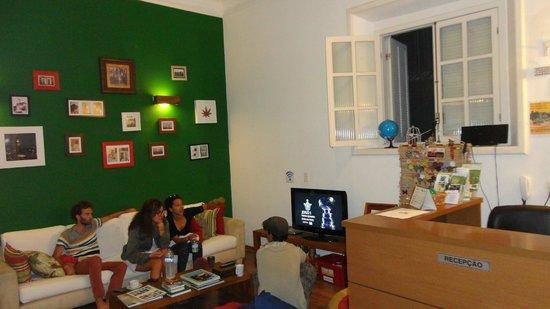 Bossa in Rio Hostel: Recepção