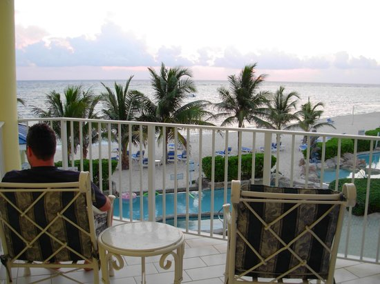 Wyndham Reef Resort: Balcony.