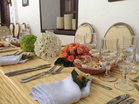 هاسيندا كورلافي: Catering eventos sociales
